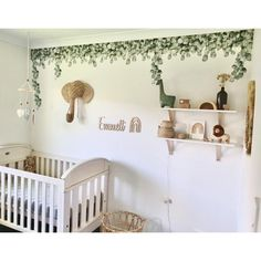 Green Leaf Jungle Wall Decals – Little Rae Prints Boys Jungle Bedroom, Jungle Theme Rooms, Safari Room, Safari Theme Nursery, Jungle Nursery Boy, Baby Nursery Decor, Jungle Room, Nursery Room, Toddler Rooms