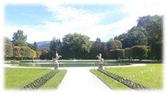 Parkanlage Lustschloss Hellbrunn Austria #österreich #ausflugsziel #schlosspark