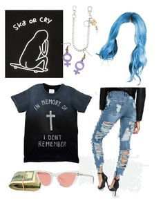"""""""2"""" by elinalidaaa on Polyvore featuring Dsquared2 and Vogue"""