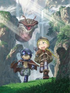 Made in Abyss - one must see it!