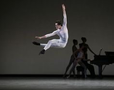 """Robert Fairchild in """"In Creases,"""" with New York City Ballet. Male Ballet Dancers, Ballet Boys, Famous Dancers, George Balanchine, Ballet Companies, City Ballet, Ethereal Beauty, Dance Fashion, Book Show"""