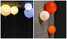 lampara globos