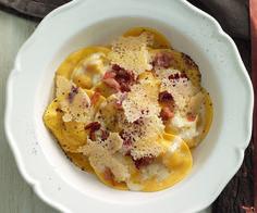 Ricetta Ravioli alla carbonara - La Cucina Italiana: ricette, news, chef, storie in cucina