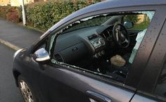 Motorists' nightmare as vehicle vandalism attacks rise by a quarter in West Yorkshire