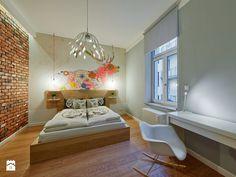 Sypialnia styl Skandynawski - zdjęcie od Projektownia