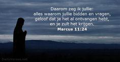 Marcus 11:24 - dailyverses.net