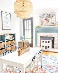 12 colorful playroom rugs that could work in any casual and fun-loving space, even for a small budget. 12 colorful playroom rugs that could work in any casual and fun-loving space, even for a small budget. Playroom Design, Playroom Decor, Playroom Ideas, Kid Playroom, Playroom Storage, Playroom Color Scheme, Playroom Paint Colors, Children Playroom, Playroom Table