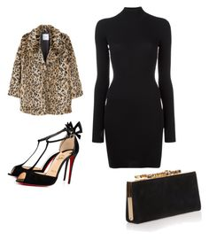 """""""chic animal print"""" by gpenny on Polyvore featuring MANGO, adidas Originals, Christian Louboutin and Jimmy Choo"""