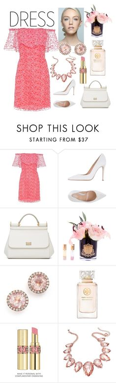 """Untitled #9"" by lea212 ❤ liked on Polyvore featuring Giamba, Gianvito Rossi, Dolce&Gabbana, Dana Rebecca Designs, Tory Burch, Yves Saint Laurent and Thalia Sodi"