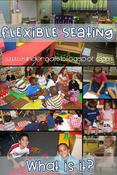 What is flexible seating? What does it look like in a kindergarten or 1st grade setting? This post will answer all your questions and show you examples!