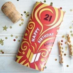 Give them an extra sweet treat for their birthday with the Personalised Special Year Birthday Chocolate Bar, complete with their name and age! #Chocolate #PersonalisedGifts #Birthday  £5.99