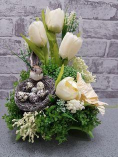 Informacje O Nowoczesny Stroik Kompozycja Wielkanoc Bukszpan 6742805382 W Archiwum Al Easter Floral Arrangement Easter Flower Arrangements Easter Arrangement
