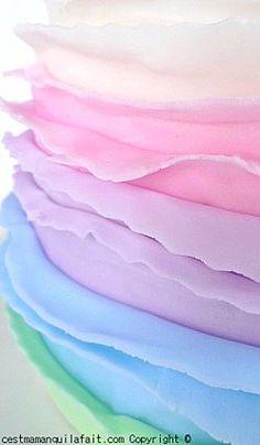 Rainbow Cake (recipe included) - © cestmamanquilafait.com                                                                                                                                                      Plus