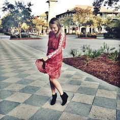 You just have to spin in this new Free People Dress!
