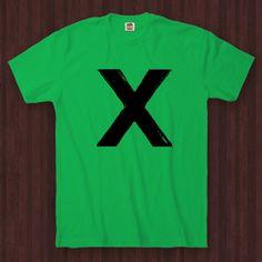 Ed Sheeran X - Don't - T-Shirt - FUN-0150 - Green