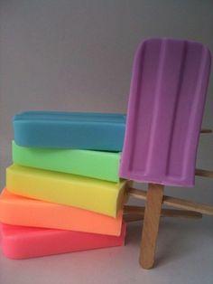 popsicle soap