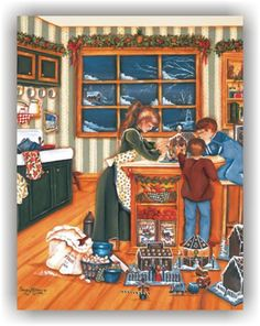 Gingerbread Makers by Shelley McVittie