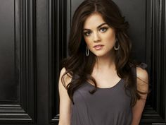 Lucy Hale   Need to go this dark!