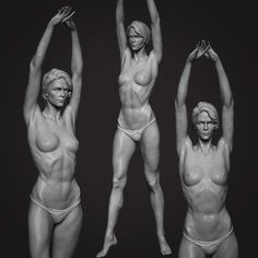 ArtStation - Female pose study wip, Tushar Dobriyal