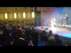 Cuca Roseta em Nice - final do concerto
