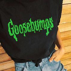 Goosebumps Short-Sleeve Unisex T-Shirt Halloween Shirt, Halloween Outfits, Halloween Fashion, Halloween Halloween, S Shirt, T Shirt Diy, Mode Outfits, Fall Outfits, Fall Shirts
