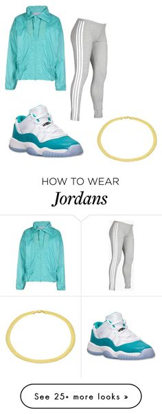 """""""Untitled #314"""" by tanasia2266 on Polyvore featuring adidas, Retrò and Sterling Essentials"""