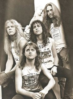 Metallica - Without Metallica, we wouldn't recognise today's heavy metal. Their first three albums with the amazing Cliff Burton on bass are still classic stuff.