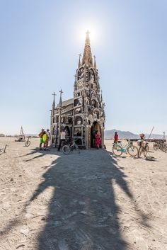 Burning Man is the biggest and most bizarre party in the world, comprised of 60,000 people camping in the desert of Nevada for a week.