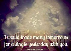 trade many tomorrows