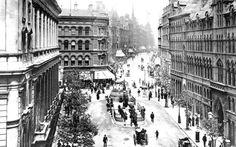 Corporation Street 1890, Birmingham.