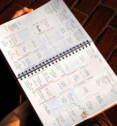 The Week Dominator. planner.