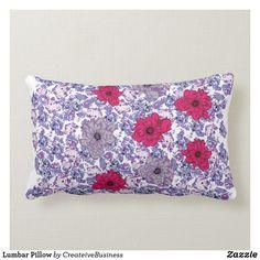 Shop Lumbar Pillow created by CreateiveBusiness. Lumbar Pillow, Bed Pillows, Pillow Cases, Custom Pillows, Pillow Inserts, Create Your Own, Pillows, Personalized Pillows
