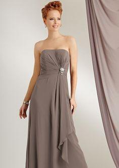 5281202543b Caterina by Jordan 6011 Chiffon Mother of the Bride Jacket Dress