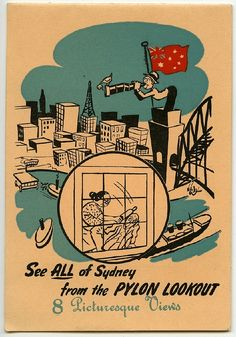 See all of Sydney from the pylon lookout by Crafty Dogma