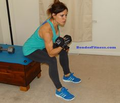 Completed this workout and liked it - Melissa Bender Fitness: 30 Minute Home Dumbbell Workout
