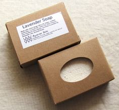 Labeled Box for your Gift Soap  Free Shipping with by AquarianBath, $0.50