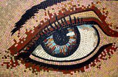 Sally Kendall Mosaics :: Eye Mosaics