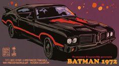 Batman 1972 - Batmobile by Francesco Francavilla *