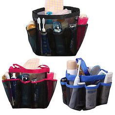 Large Shower Hanging Caddy Organizer Bag for Bathroom Accessory Prevalent