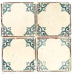 This tile pattern would make a beautiful backsplash!
