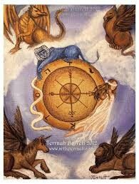 Wheel of Fortune Tarot by Terrauh on DeviantArt