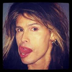 Steven Tyler that mouth that tongue