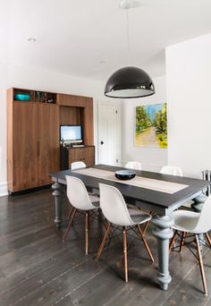 My Houzz  Contemporary  Dining Room  San Francisco  Shannon Interesting Contemporary Kitchen Chairs Design Inspiration