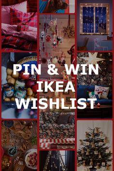 PIN & WIN IKEA WISHLIST! Win je persoonlijke wishlist met IKEA Nederland! Wat moet je doen? Stap 1: Maak een bord aan met de naam 'WISHLIST IKEA'. Stap 2: Pin je favoriete IKEA producten uit het IKEA Wishlist bord. Stap 3: Repin minimaal 15 pins op je bord. Stap 4: Voeg IKEA Nederland toe aan je bord. Stap 5: Pinnen kan t/m 16 december. De maker van het mooiste bord wint zijn of haar wishlist, oplopend tot een bedrag van €500.-. Doe mee en gun jezelf een feestelijke Kerst! Kallax, Tiny Spaces, Ikea Hack, Cool Gadgets, Home Decor Inspiration, Some Fun, Light In The Dark, Diy And Crafts, Projects To Try