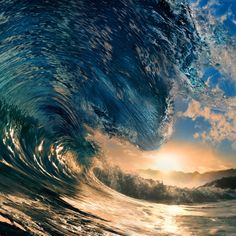 8.9AUD - Beautiful Wave In The Sea Photo Print Canvas Collectors #ebay #Home & Garden