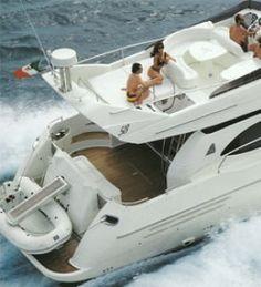Yacht charter Greece, M/Y Harryloo, Azimut 58 2001 / 2010  www.yachtspanic.com