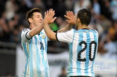 熱身賽 阿根廷2:0輕取斯洛維尼亞 - 中時電子報
