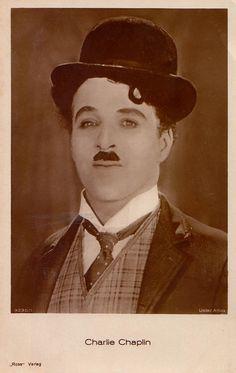 Discovering Chaplin: German Ross Verlag postcard