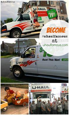 U Haul Toy Moving Truck 1 43 Ford E350 Indiana O Scale