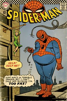This is why I had to quit my job as spiderman.